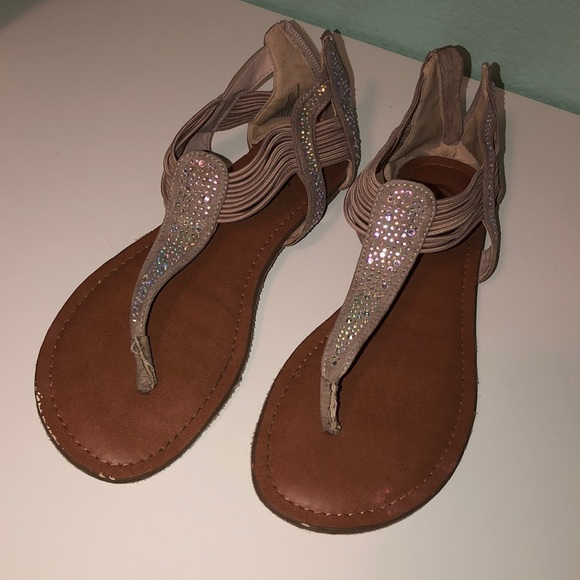 Candie's Shoes - Sparkly Sandals